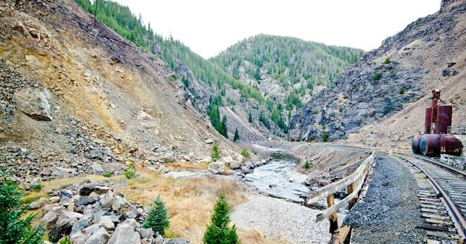 Belden, near Gilman, Eagle Mine, Eagle River, Eagle County Colorado