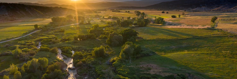 Ridgeway Ranch, Brush Creek Valley, Eagle County, Colorado. July 2019