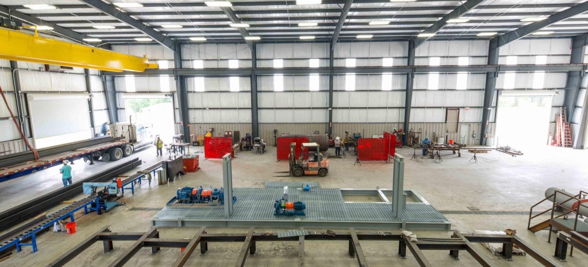 Modular equipment fabrication