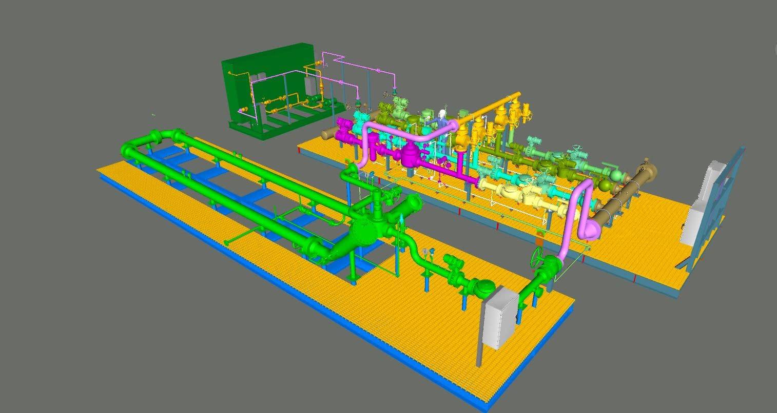 diesel hydrotreater modular